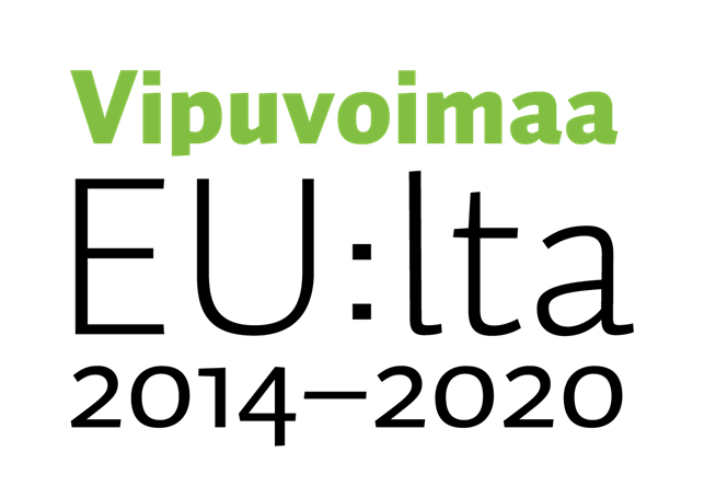 logo: Vipuvoimaa EU:lta 2014-2020